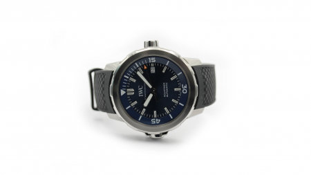 "NY IWC AQUATIMER ""EXPEDITION JACQUES-YVES COUSTEAU"""