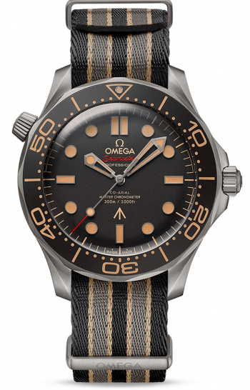 "OMEGA DIVER 300M CO‑AXIAL MASTER CHRONOMETER 42 MM ""007 Edition"""