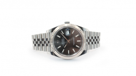 Rolex Datejust 41mm (sort skive) 126334
