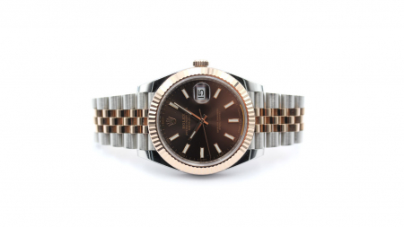 "Rolex Datejust 41 ""Chocolate Dial"""